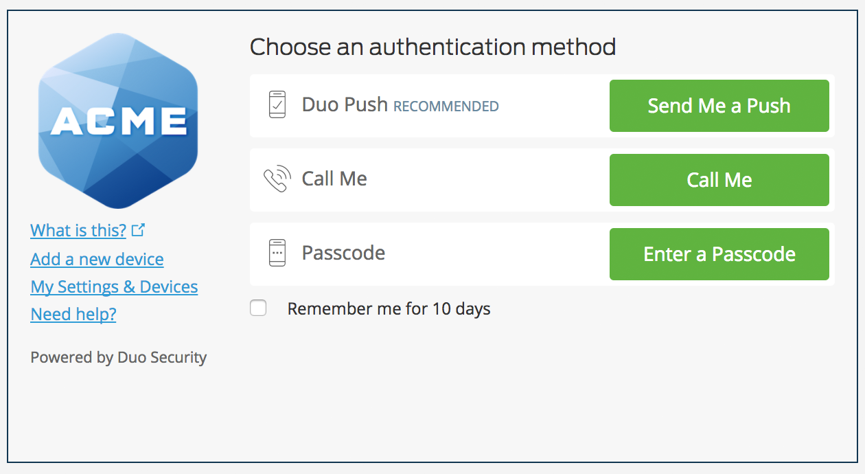 Duo Access Gateway Launcher - Guide to Two-Factor Authentication