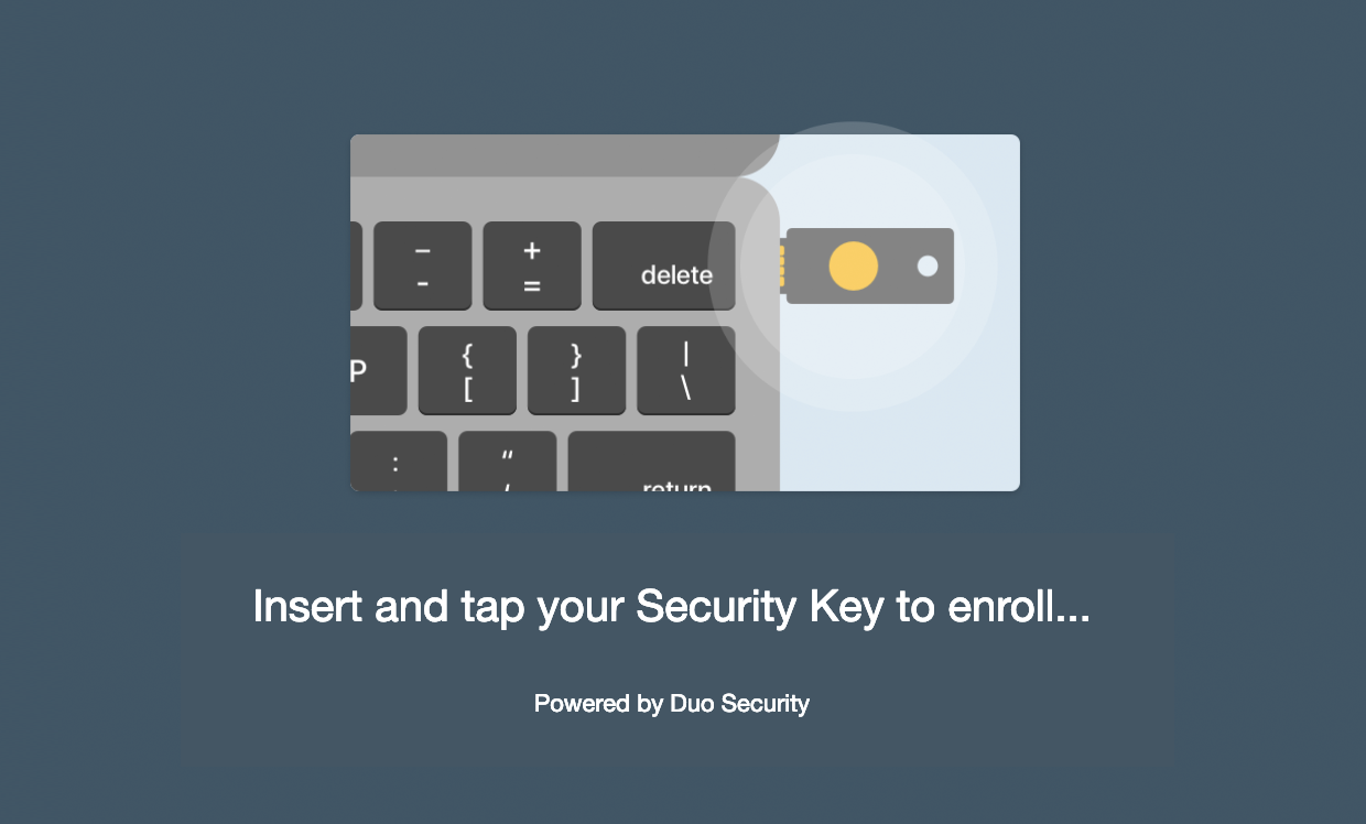 Using Security Keys with Duo - Guide to Two-Factor Authentication